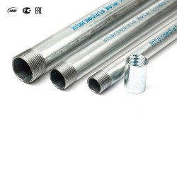 IMC Galvanized Steel Threaded Rigid Conduits / Pre-Galvanized