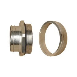 Internal Type Straight Thread Metal Connector / Male Type (IP44)