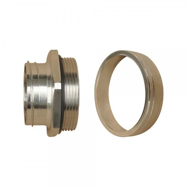 Internal Type Straight Thread Metal Connector / Male Type (IP44)