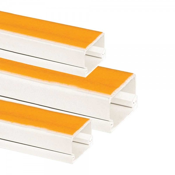 PVC Cable Trunking Box - Adhesive
