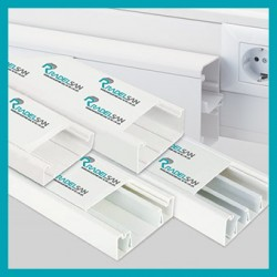 PVC Cable Trunking Box