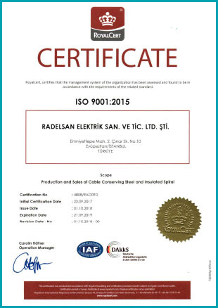 Radelsan ISO 9001-2015