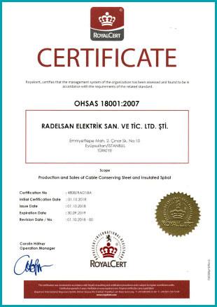 Radelsan OHSAS 18001